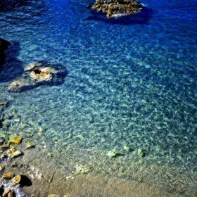 とうめいな海の写真