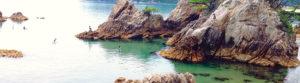 鳥取 海水浴写真